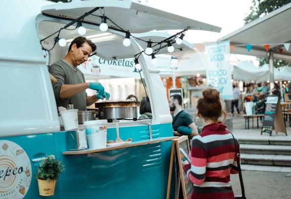 food trucks - self employed business ideas