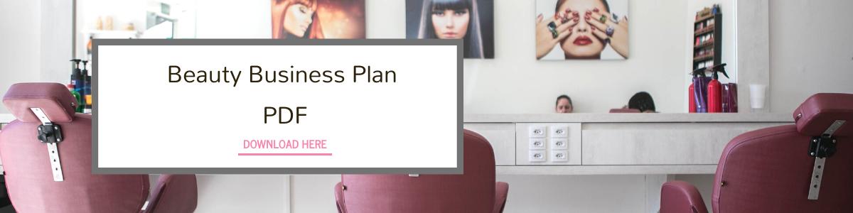 beauty business plan pdf kit