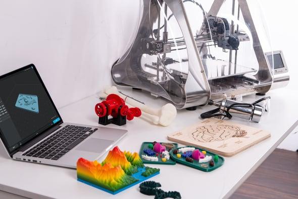 future business trends - 3d prints